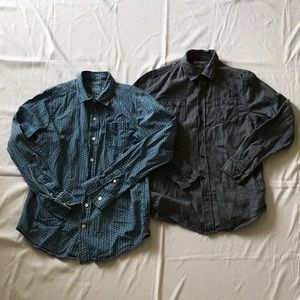 LOT OF BOYS BUTTON DOWN SHIRTS
